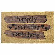 Happily Ever Rectangular Doormat - 18