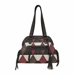 Bueno Of California Triangle Dome Shoulder Bag