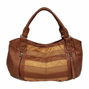 St. John`s Bay Chevron Double Shoulder Bag