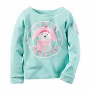 Carter's Girls Graphic T-Shirt-Preschool