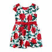 Carter's Short Sleeve A-Line Dress - Toddler