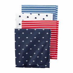 Carter's Girl Red 4pk Blankets