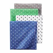 Carter's Boy Blue 4pk Blankets