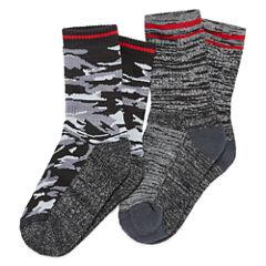 2-pk. Climate Smart Camo Socks-  Boys