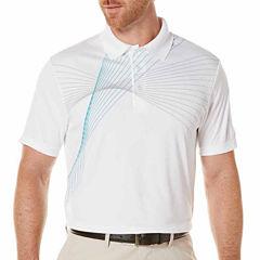 PGA Tour Short Sleeve Pattern Polo Shirt