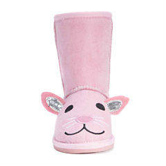 Zoo Babies Girls Bunny Boots - Toddler