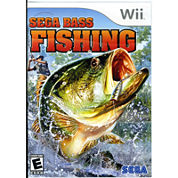 Sega Bass Fishing Video Game-Wii