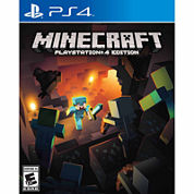 Minecraft Video Game-Playstation 4