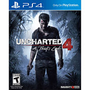 Uncharted 4: A Thief'S End Video Game-Playstation 4