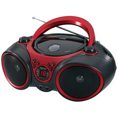 Jensen CD-490 Portable Stereo CD Player with AM/FM Stereo Radio and LED Display