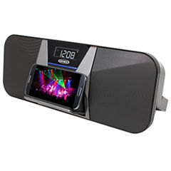 Jensen JBD-400 Portable Bluetooth Speaker/FM Receiver with Charging for Smartphones
