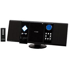 Jensen JMC-180 Wall-Mountable CD System with AM/FM Stereo Receiver and Remote Control