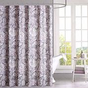 Madison Park Lira Cotton Shower Curtain