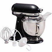 KitchenAid® Caviar Artisan® Series 5-Quart Tilt-Head Stand Mixer