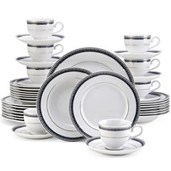 Mikasa Crown Cobalt 40-pc. Dinnerware Set
