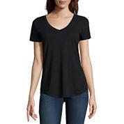 Stylus Short Sleeve V Neck T-Shirt