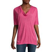 Liz Claiborne® Dolman-Sleeve Tunic Top
