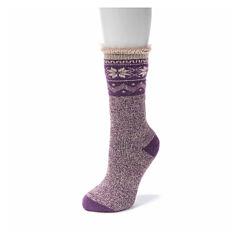Muk Luks Crew Socks