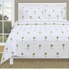 Lamont Home® The Palm Tropical Coverlet & Accessories