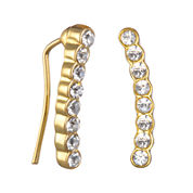 Mixit™ Cubic Zirconia Climber Earrings