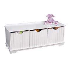 KidKraft® Nantucket Storage Bench - White