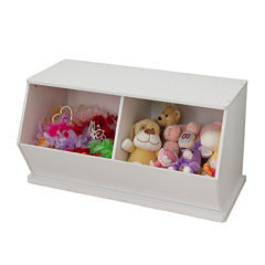 KidKraft® Double Storage Unit - White