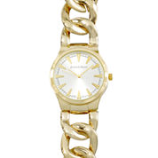 Journee Collection Womens Stainless Steel Link Bracelet Watch