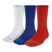 Nike® 3-pk. Mens Dri-FIT HBR Crew Socks - Big & Tall