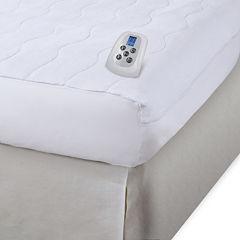 Serta® Microplush Electric Warming Mattress Pad
