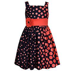 Bonnie Jean Sleeveless Drop Waist Dress - Preschool Girls