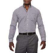 Van Heusen Non-Iron Button-Front Shirt- Big & Tall