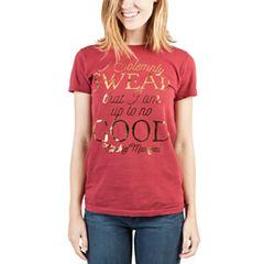 Short Sleeve Crew Neck Harry Potter Graphic T-Shirt