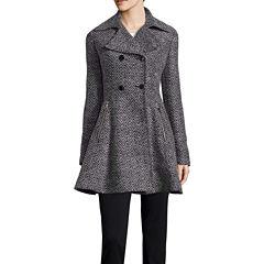 Liz Claiborne® Ladylike Wool-Blend Coat