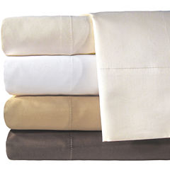 American Heritage 800tc Set of 2 Cotton Sateen Solid Pillowcases