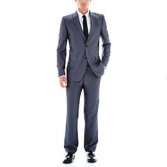 JF J. Ferrar® Luster Herringbone Suit Separates - Slim-Fit