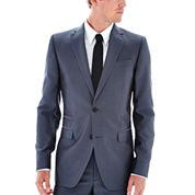 JF J. Ferrar® Grey Luster Suit Jacket - Classic Fit