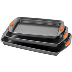 Rachael Ray® Yum-o! 3-pc. Lovin' Nonstick Oven Cookie Pan Set