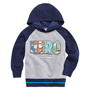 Okie Dokie Pixar Hero Fleece Hoodie - Toddler 2T-5T