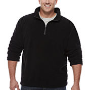 The Foundry Big & Tall Supply Co. Quarter Zip Plush Fleece