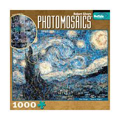Buffalo Games Photomosaics Jigsaw Puzzle - StarryNight: 1000 Pcs