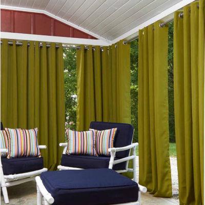 Greendale Grommet Top Outdoor Curtain Panel
