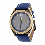 Brooklyn Exchange Mens Blue Bracelet Watch Nwl399010ag-Bl