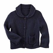 Oshkosh Long Sleeve Cotton Cardigan - Baby