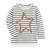Oshkosh Girls Long Sleeve T-Shirt-Preschool