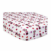 Disney 2-pc. Minnie Mouse Crib Sheet