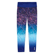 Reebok Solid Knit Leggings - Preschool Girls