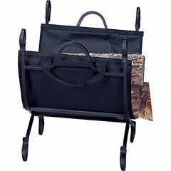Blue Rhino Log Carrier With Canvas Carrier