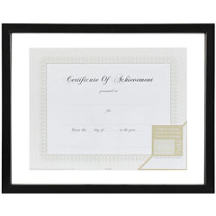 Floating Document and Certificate Frame