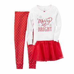 Carter's Kids Pajama Set Girls