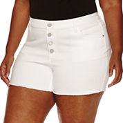 a.n.a Denim Shorts Plus